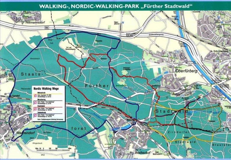 Grossansicht in neuem Fenster: Bild Nordic Walking Stadtwald
