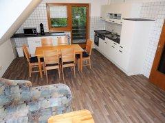 Grossansicht in neuem Fenster: FeWo Bornschein Küche