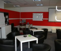 Grossansicht in neuem Fenster: Drive Zone Unterrichtsraum