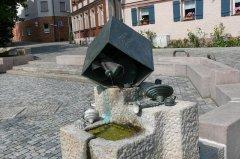 Grossansicht in neuem Fenster: Koppenplatz mit Brunnen